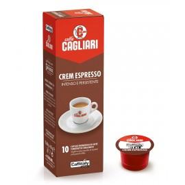 10 Capsule Cagliari Cream Espresso Caffitaly