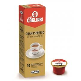 10 Capsule Cagliari Grand Espresso Caffitaly