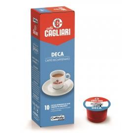 10 Capsule Cagliari Decaffeinato Caffitaly
