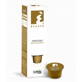 10 Capsule Ecaffè Prezioso 100 % arabica Caffitaly