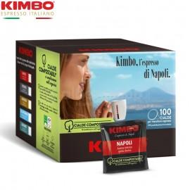 100 Cialde Kimbo Napoli compostabili