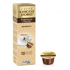 10 Capsule Chicco d'Oro Espresso l'Italiano Caffitaly