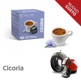 16 Capsule compatibili Nescafé Dolce Gusto Cicoria Solubile Italian Coffee