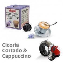 10 Capsule compatibili Nescafè Dolce Gusto Ristora Chicory Cortado & Cappuccino