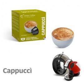 16 Capsule compatibili Nescafè Dolce Gusto Cappuccino CAPUCCI' Italian Coffee