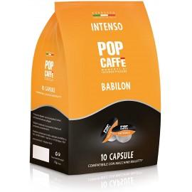 16 Capsule INTENSO Bialetti Babilon Pop Caffè