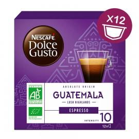 Nescafé capsule Dolce Gusto, Espresso 100% Biologico Guatemala - conf. da 12 CAPSULE