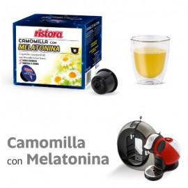 10 Capsule di Camomilla con Melatonina Ristora compatibili Nescafé Dolce Gusto
